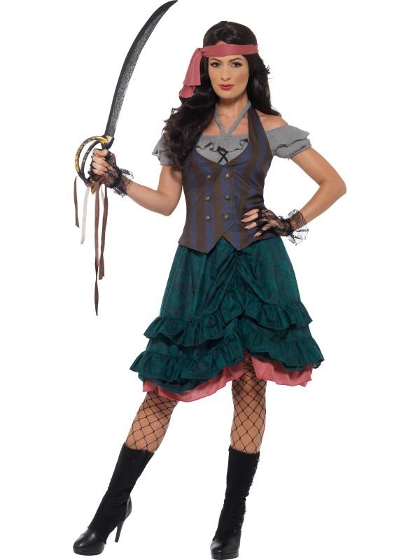 Deluxe Pirate Wench Kostuum