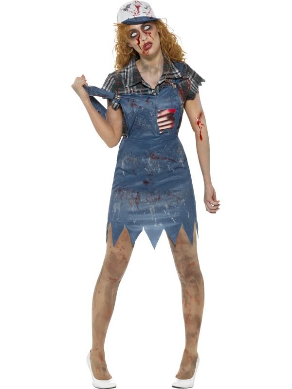 Zombie Hillbilly Kostuum Dames