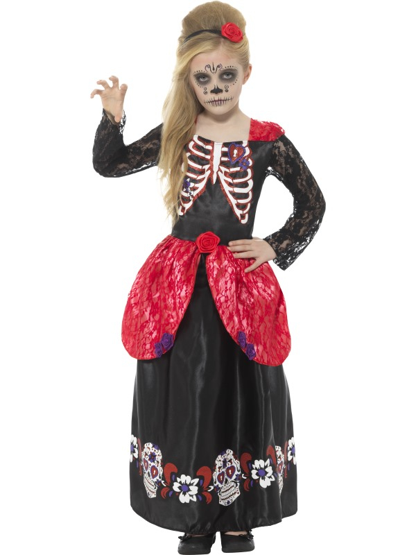 Deluxe Day of the Dead Girl Kostuum