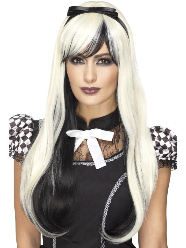 Deluxe Gothic Alice Pruik