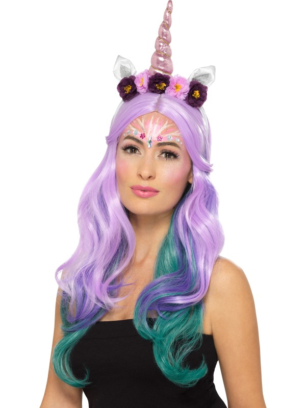 Unicorn Cosmetic Kit, Aqua