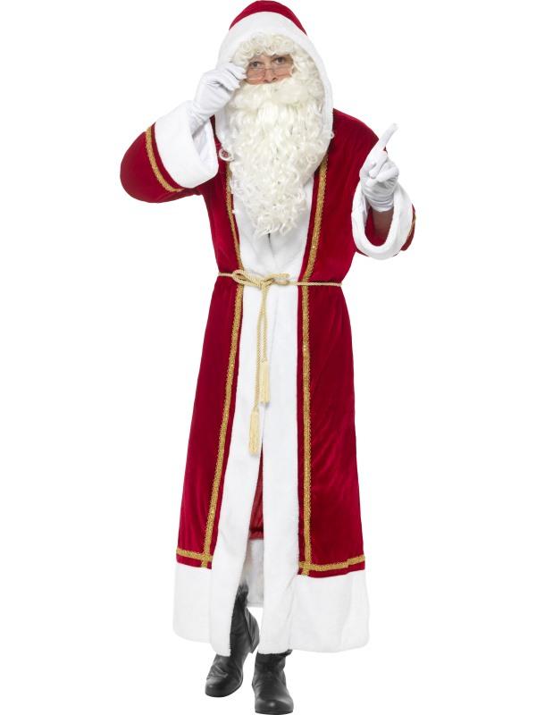 Deluxe Santa Mantel