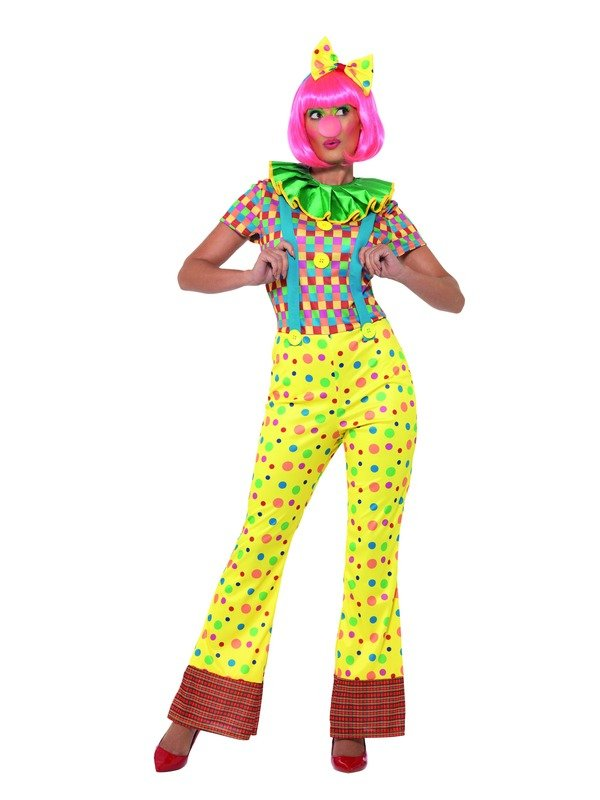 Giggles The Clown Lady Kostuum