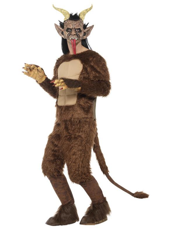 Beast / Krampus Demon Kostuum, Langharig