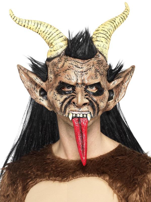Beast / Krampus Demon Masker