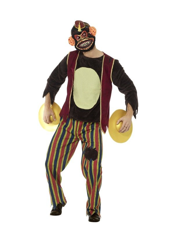 Deluxe Clapping Monkey Toy Kostuum