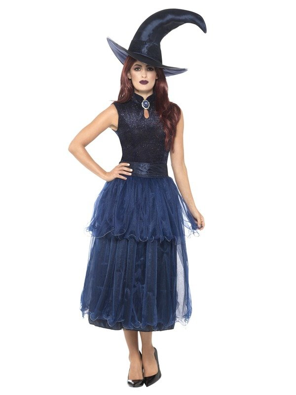 Deluxe Midnight Witch Kostuum