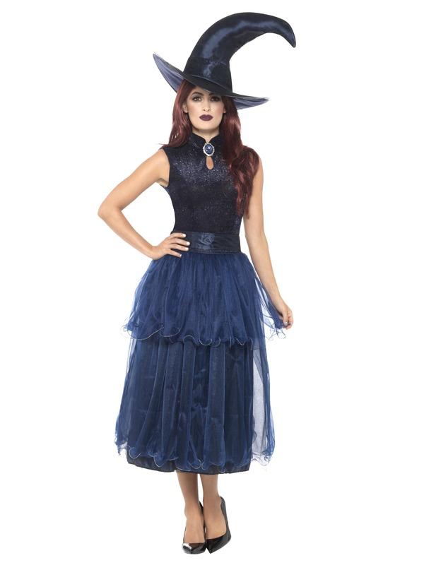 Deluxe Midnight Witch Kostuum