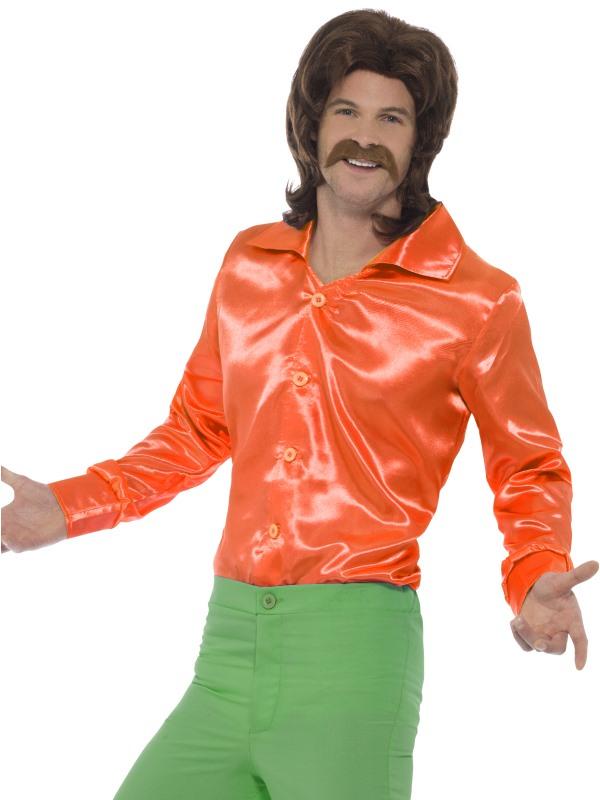 60s Blouse Oranje