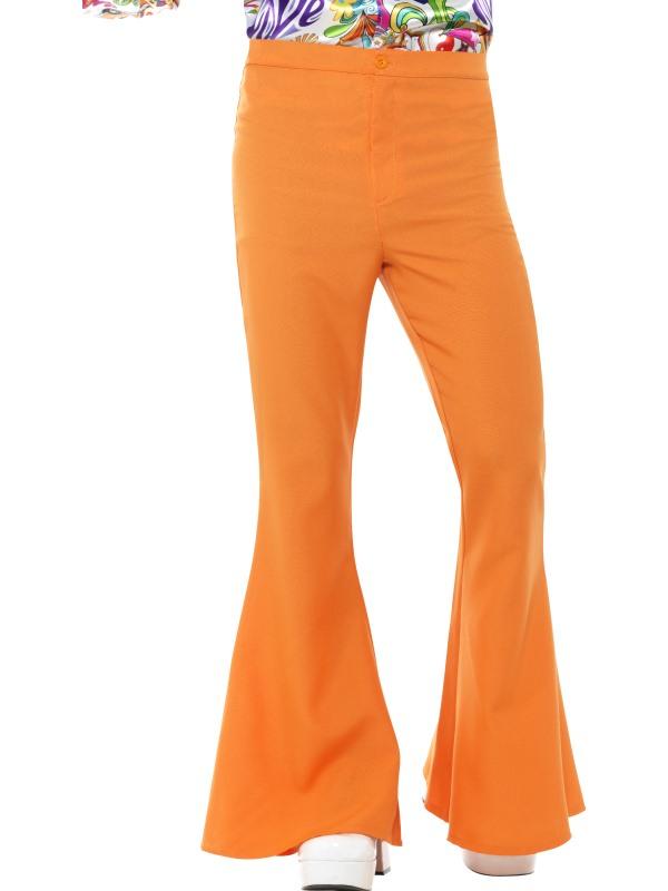 Flared Trousers Oranje, Heren