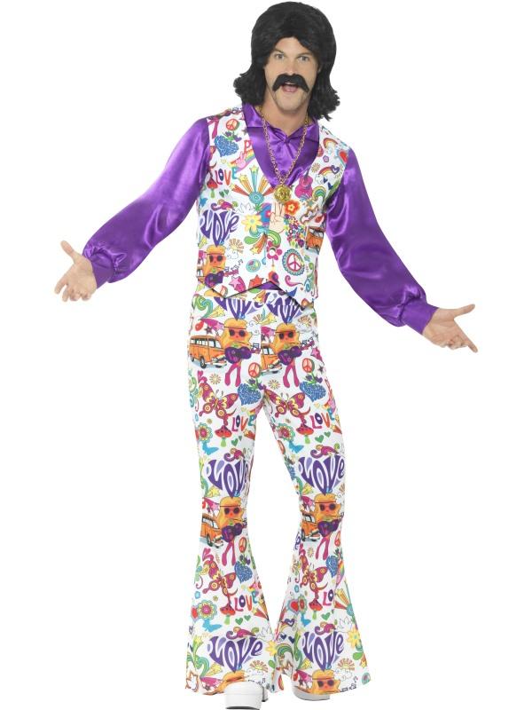 60s Groovy Hippie Kostuum