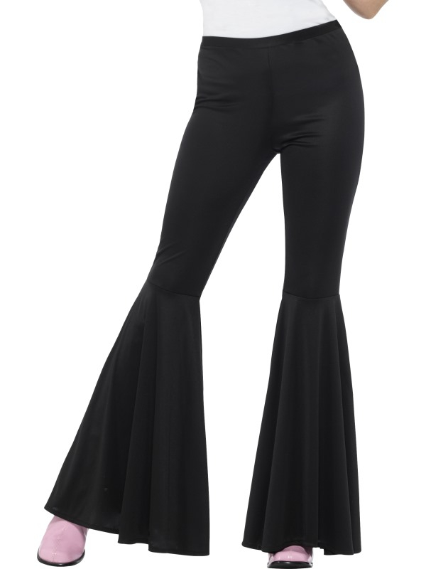 Zwarte Flared Trousers, Ladies