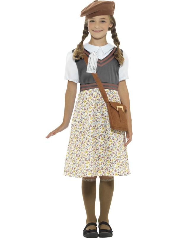 Evacuee School Girl Kostuum