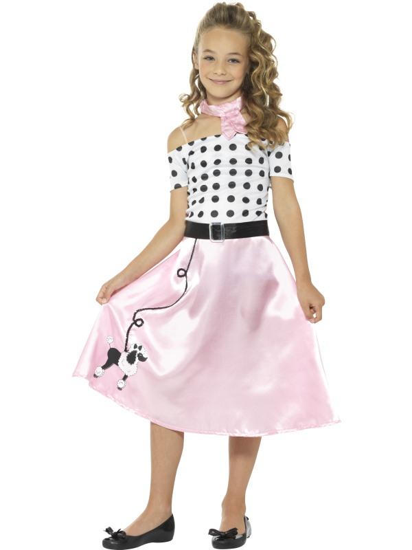 50s Poodle Girl Kostuum