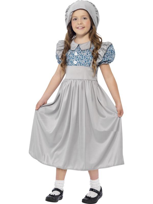 Victorian School Girl Kostuum