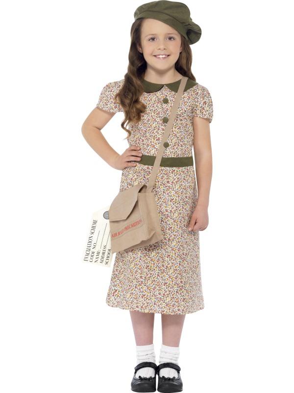 Evacuee Girl Kostuum
