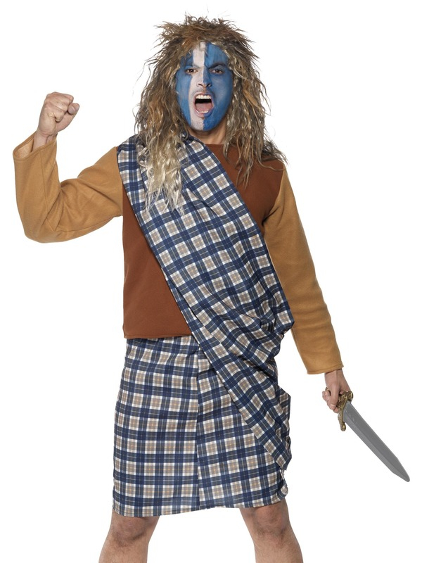 Brave Scotsman Kostuum