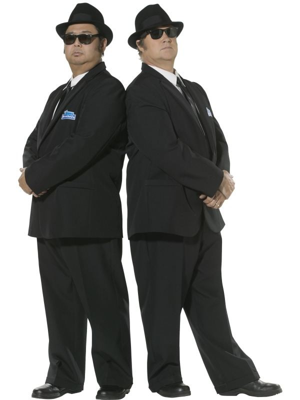 Blues Brothers Heren Verkleedkleding
