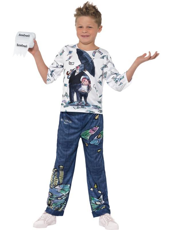 David Walliams Deluxe Billionaire Boy Kostuum