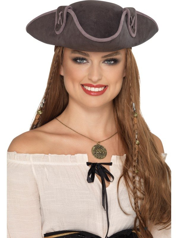 Tricorn Pirate Captain Hoed Unisex