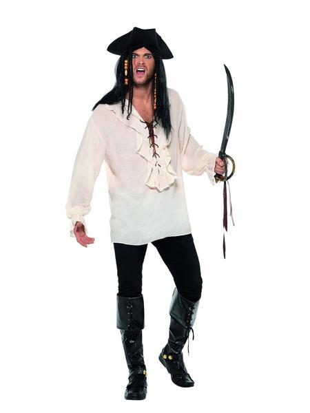Piraten Shirt Heren Off White
