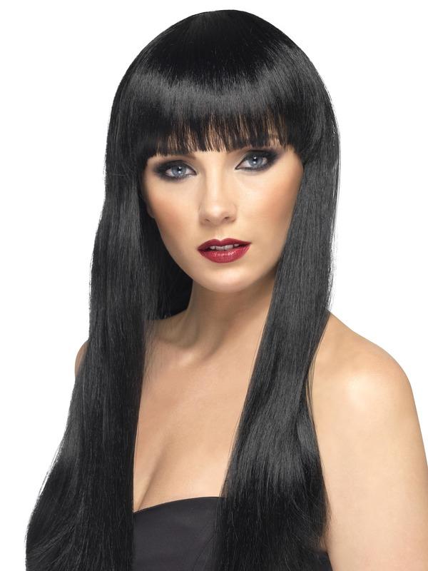 Beauty Pruik Zwart
