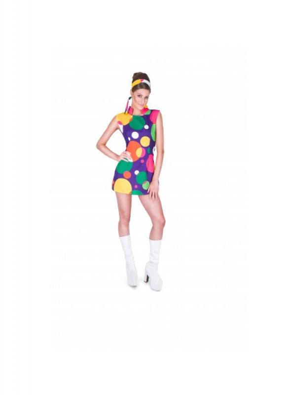 Hippie Girl Kostuum