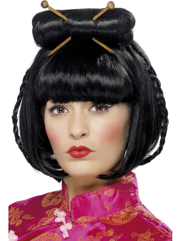 Oriental Lady Pruik