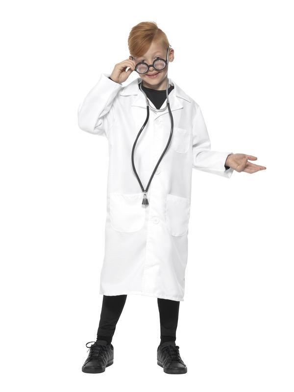 Dokter Wetenschapper Unisex Kinder Kostuum