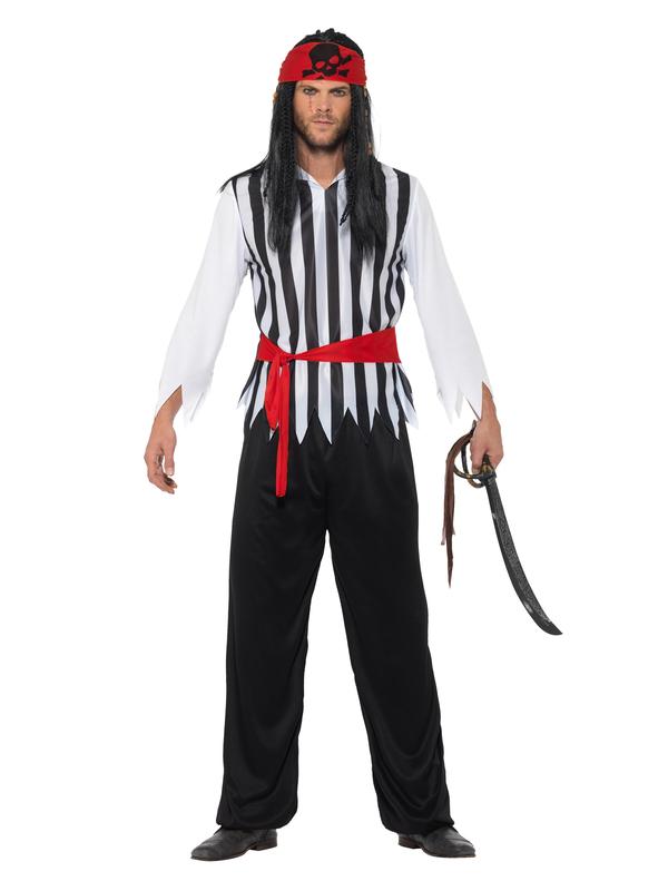 Piraten Heren Kostuum Compleet