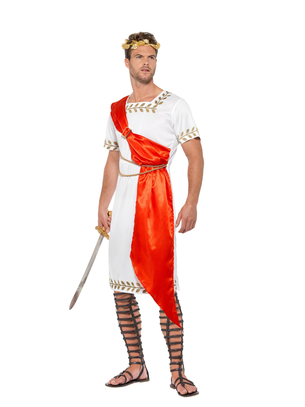 Romeinse Senator heren kostuum