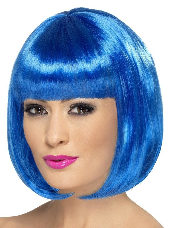 Partyrama Pruik Blauw