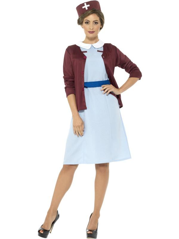 Vintage Nurse Kostuum
