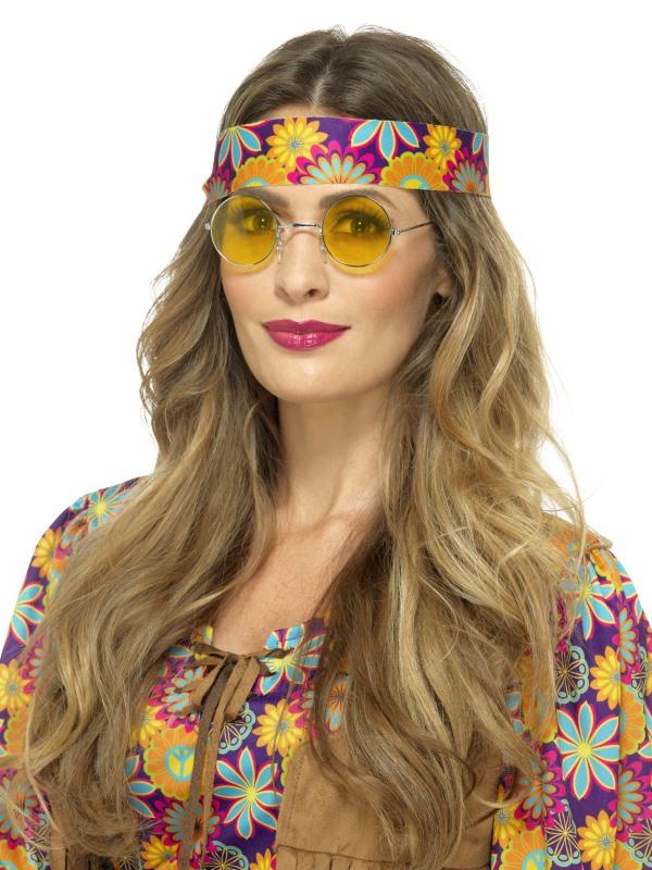 Hippie Bril Geel