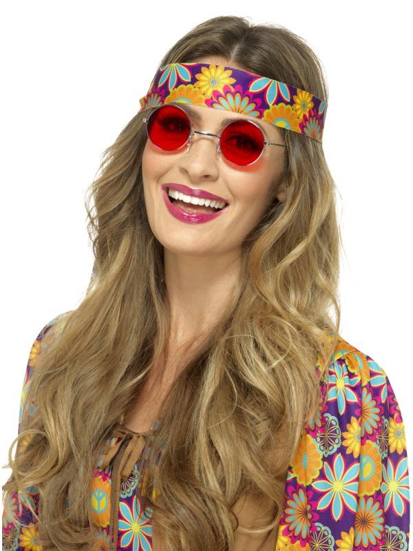 Hippie Bril Rood