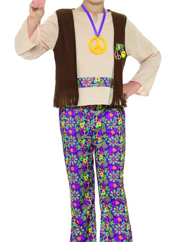 Hippie Boy Kostuum