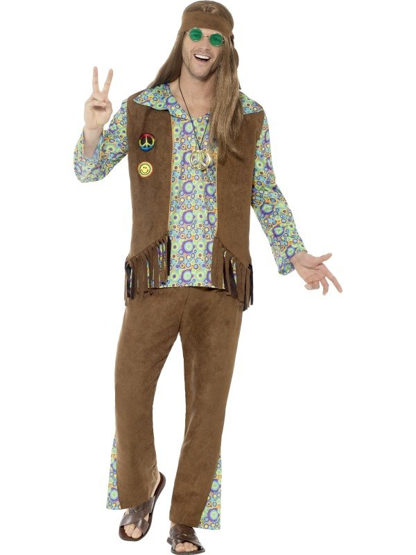 60s Hippie Kostuum Heren