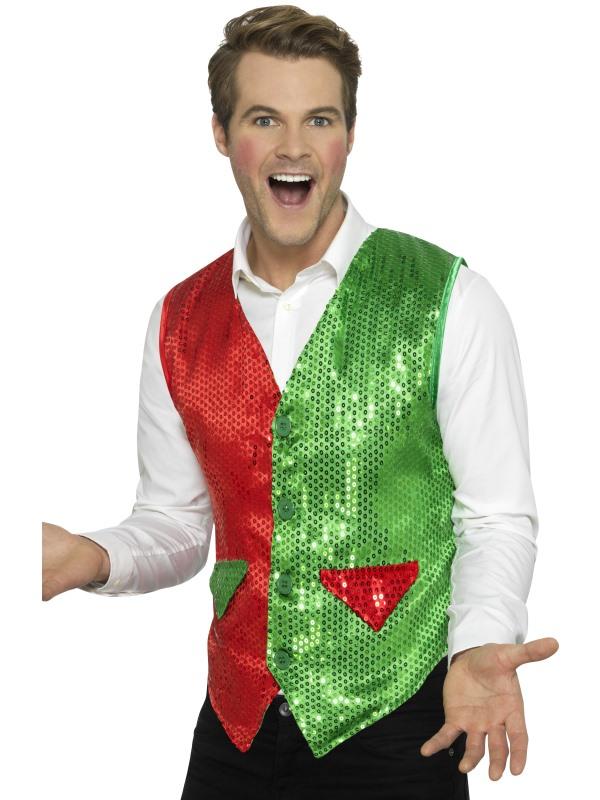 Sequin Elf Waistcoat