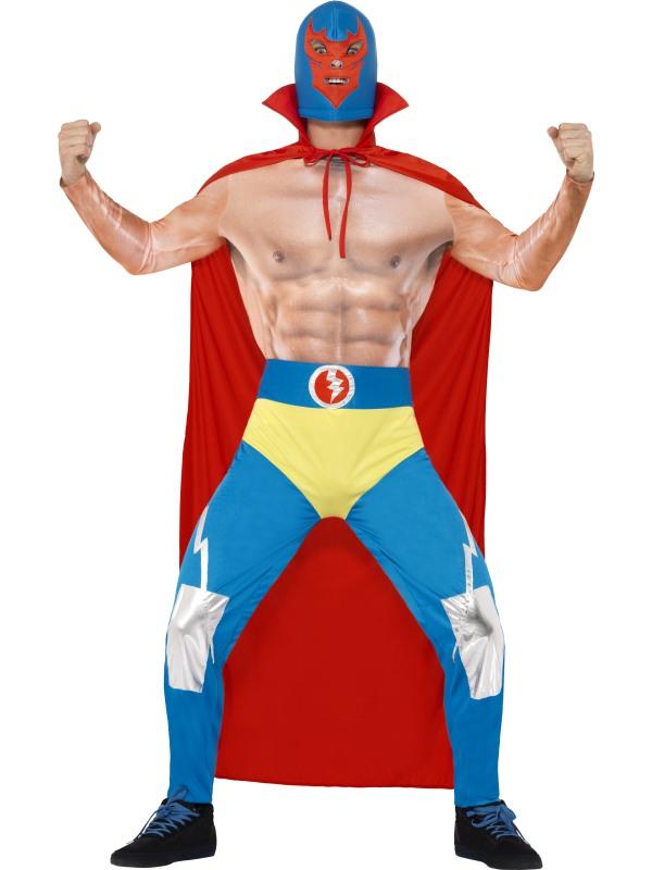 Mexican Wrestler Kostuum