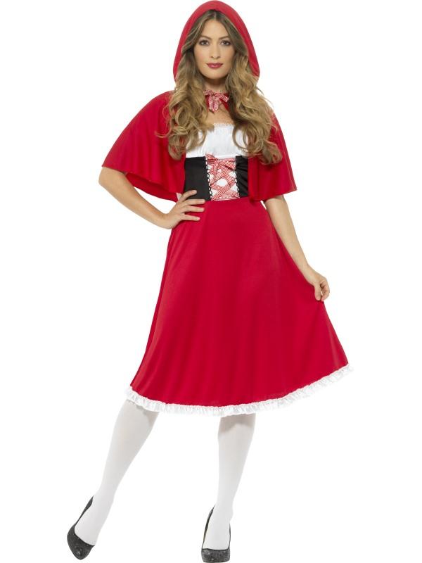 Roodkapje Kostuum Lang