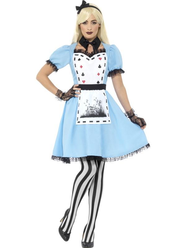 Deluxe Dark Tea Party Kostuum