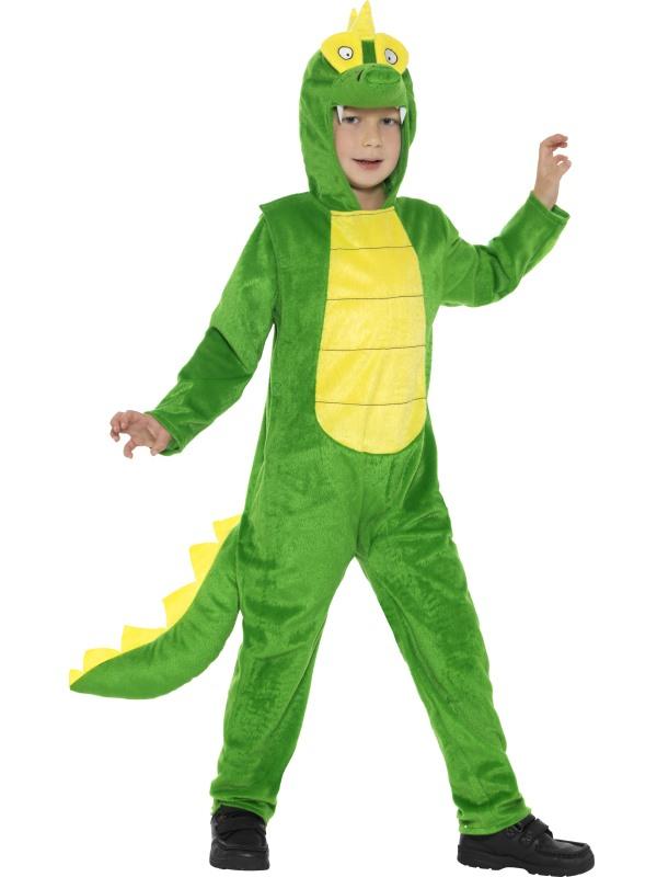 Deluxe Krokodillen Kostuum Kids