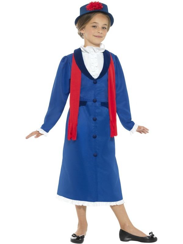 Victorian Nanny Kostuum