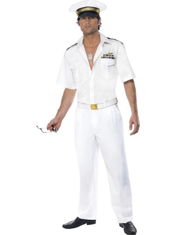 Top Gun Captain Heren Verkleedkleding