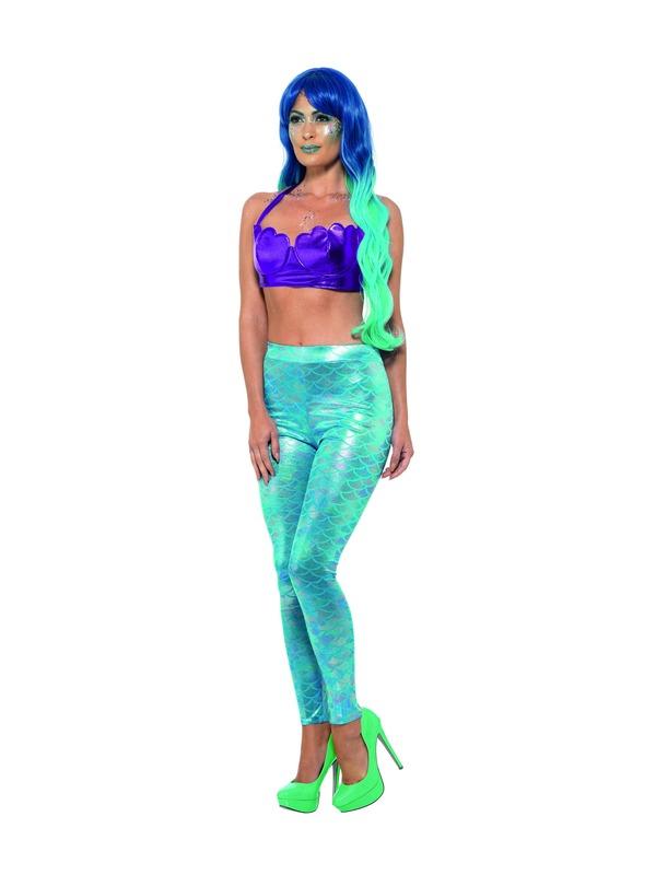 Mermaid Legging Blauw