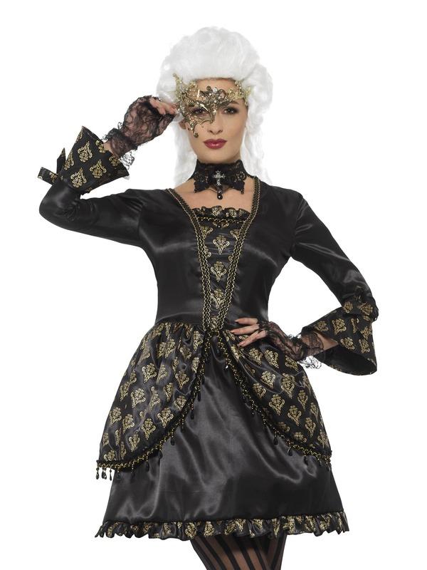 Deluxe Masquerade Kostuum