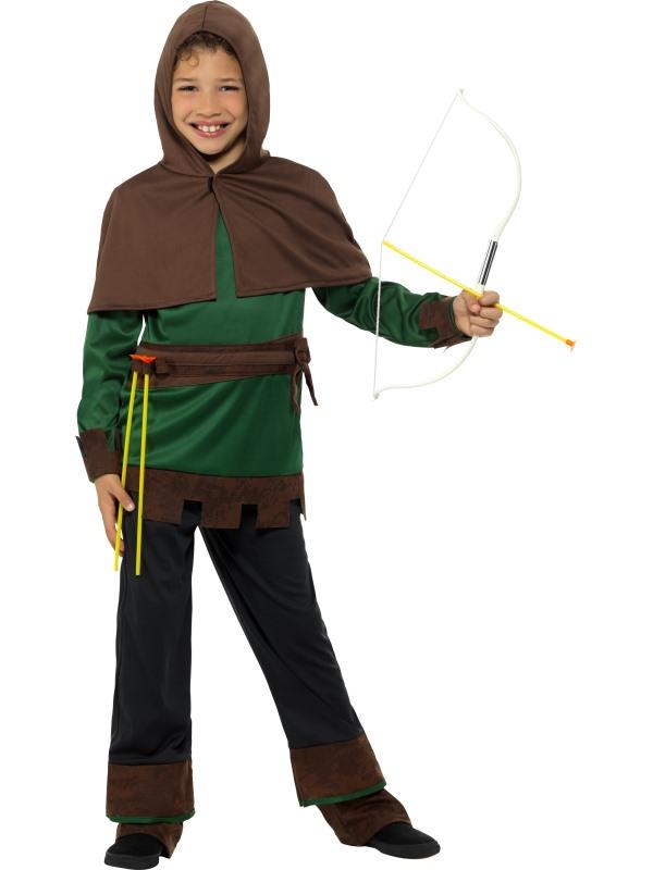 Deluxe Robin Hood Kostuum Kids