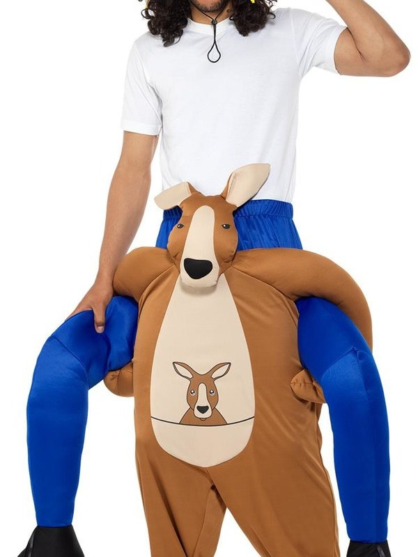 Piggyback Kangaroo Kostuum