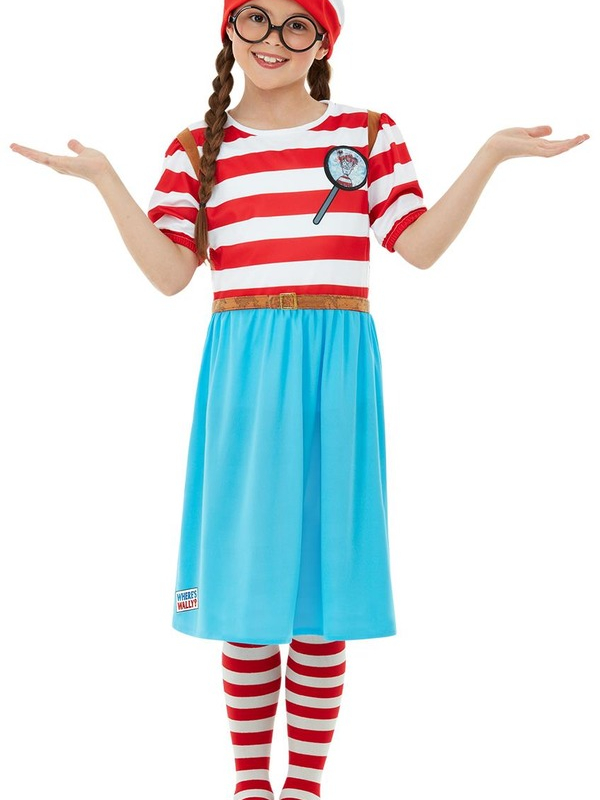 Where's Wally? Wenda Deluxe Kostuum