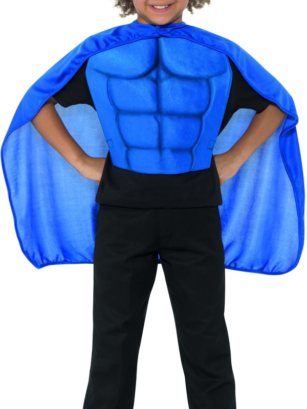 Kids Superhero Set Blauw